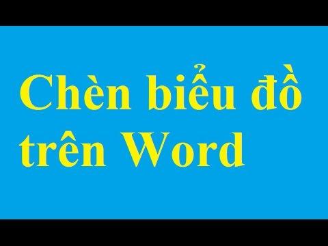 Chèn, tạo biểu đồ trên Word – taimienphi.vn