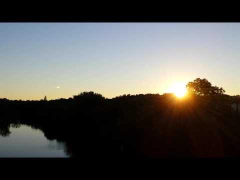 Free Sunrise Broll in Peterborough Ontario Canada Earth