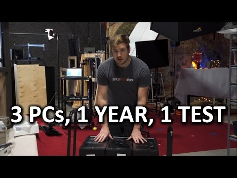 ONE YEAR BENCHMARK - PC Case Air Pressure Investigation Pt. 1