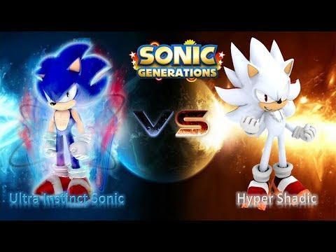 Sonic Generations Mod Part 199_ Ultra Instinct Sonic VS Hyper Shadic (1080p60fps)