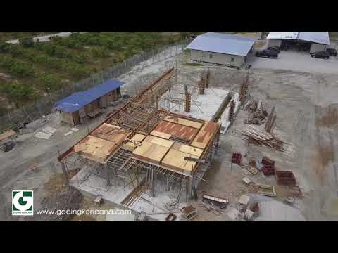 Large Scale Solar Farm (LSS) Bidor, Perak. - Jan 2018