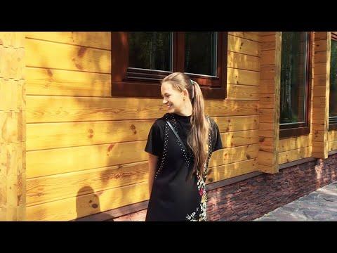 Очень красивый одноэтажный дом, который вы никогда не видели –деревянный «Мираж» из клеёного бруса