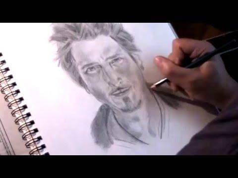 Watch Me Draw: Chris Cornell - R.I.P. Tribute