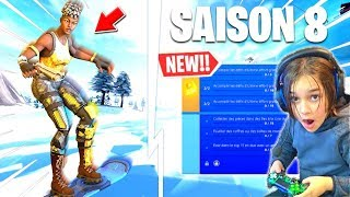 NEW AEROPLANCHE ON INCROYABLE FORTNITE AND NEW DEFI SAISON PAS 8 FREE!