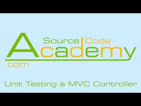 Unit Testing a MVC Controller (#5)