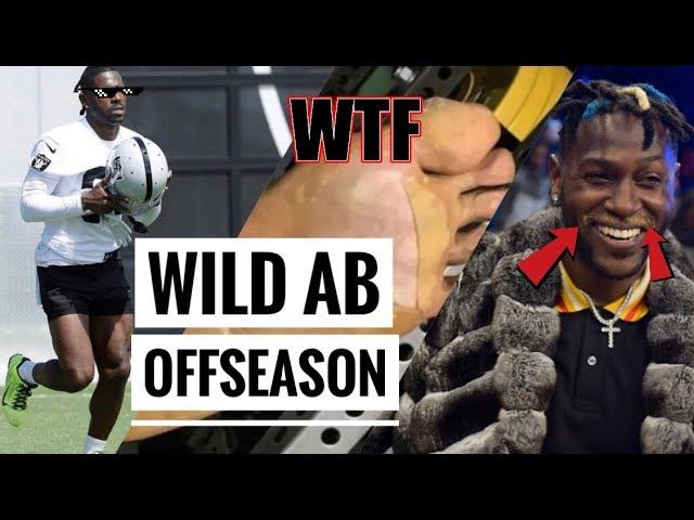 Antonio Brown's WILD Offseason
