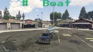 Gta5 online rare boat trailer spawn location Grand theft auto v