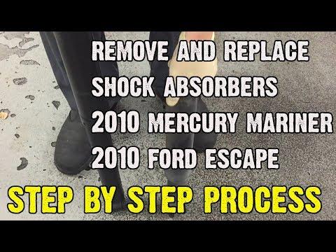 Replacing Rear Shocks On 2010 Mercury Mariner