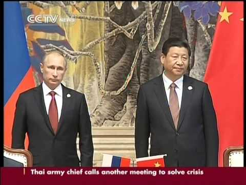 China, Russia sign gas deal