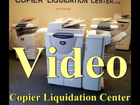 Copiers - Xerox 5735, 5755 copier printer scanner Low Meter 2017