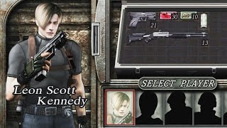 Resident Evil 4 (PS4 1080p 60fps) - The Mercenaries - Leon Kennedy (All Stages)