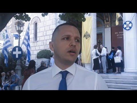 """Ηλίας Κασιδιάρης: """"Ο Κυβερνήτης της Φ/Γ Λήμνος δείχνει τον Δρόμο! Χρόνια πολλά στους Έλληνες!"""""""