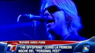 The Offspring - Gone Away (vivo en Argentina)
