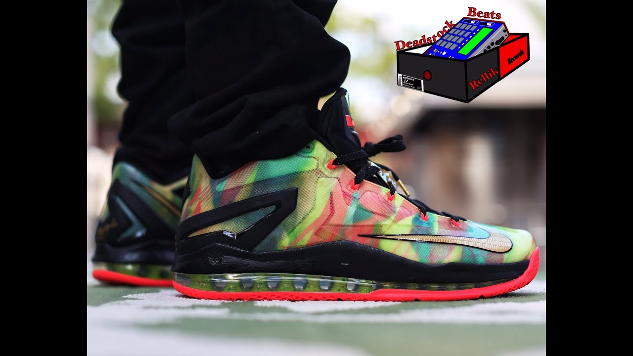 hot sale online f259d 5cded Nike Lebron XI Low SE (On Feet) (Old eXimus Beat) HD Quality