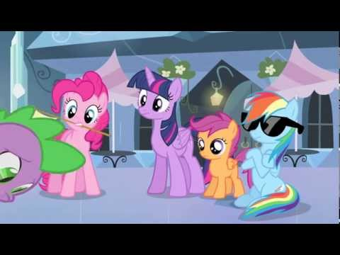 Rainbow Dash ~ Act Casual! (puts On Sunglasses)  ...'Sup?