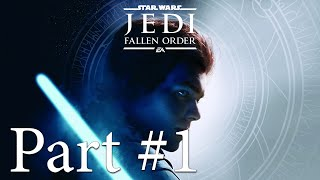 Let's Play - Star Wars: The Fallen Order Part #1