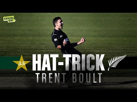Pakistan vs New Zealand 1st ODI: Trent Boult Hat-Trick