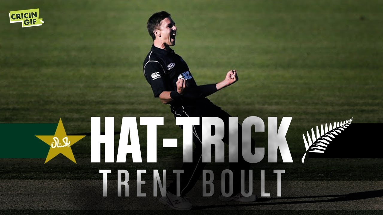 Pakistan vs New Zealand 1st ODI: Trent Boult Hat-Trick