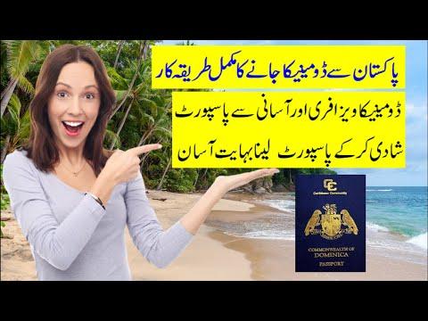 Pakistan to Dominica Flight Route | Dominica Visa Free (PAKI
