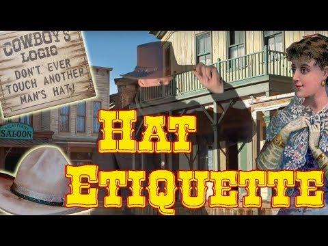 Old West Hat Etiquette