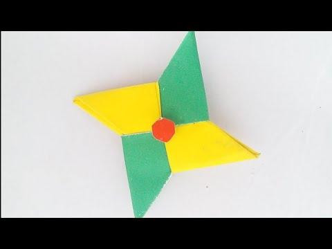 DIY  paper Fidget spinner || DIY idea for Kids