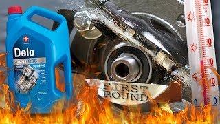 Texaco Delo 400 RDS 10W40 Jak skutecznie olej chroni silnik? 100°C