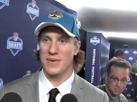 Blaine Gabbert Jacksonville Jaguars 2011 NFL Draft Pick Interview