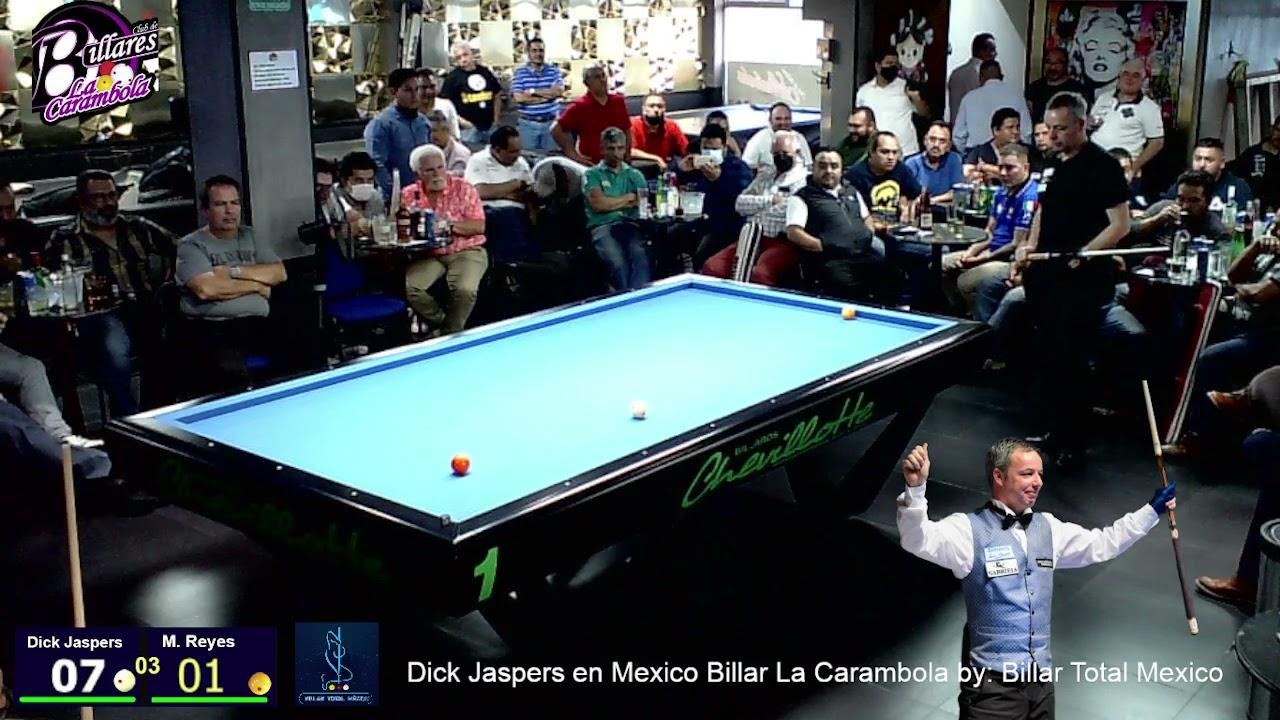 Dick Jaspers Hol vs Cesar Marcos Reyes   By: Billar Total México Billar La carambola