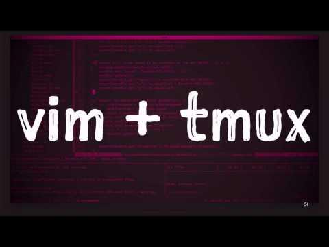 vim + tmux - OMG!Code
