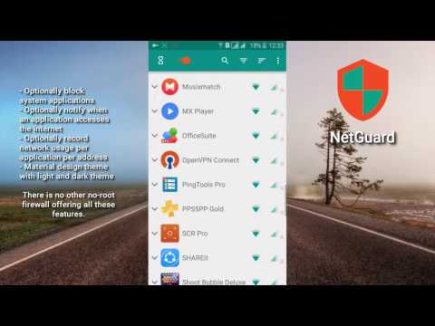 NetGuard No Root Firewall for Android - The Firewall for your