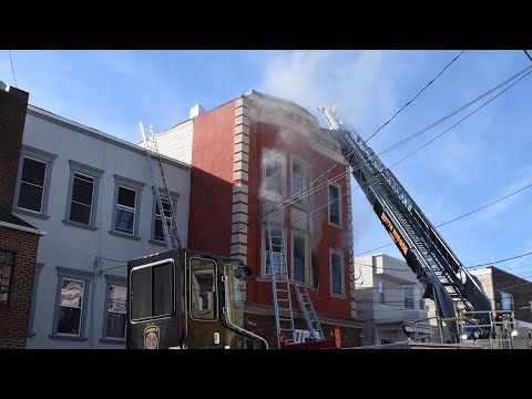 North Hudson Regional Fire 4th Alarm Structure Fire 70th St North Bergen 12-19-18