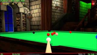 Virtual Pool 3, 147 Break, First Person (Snooker)