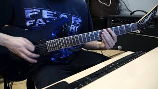 Strapping Young Lad - S.Y.L. Guitar Cover