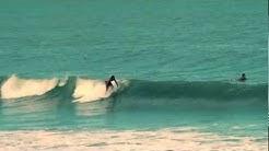 Surfing Daytona Beach FL. Montage