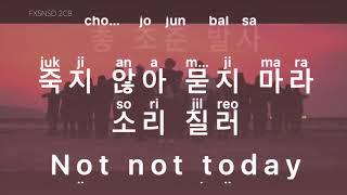 [KARAOKE] BTS - Not Today