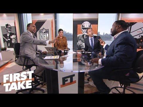 Aaron Rodgers, Ben Roethlisberger, Eli Manning under 'most pressure' | First Take | ESPN