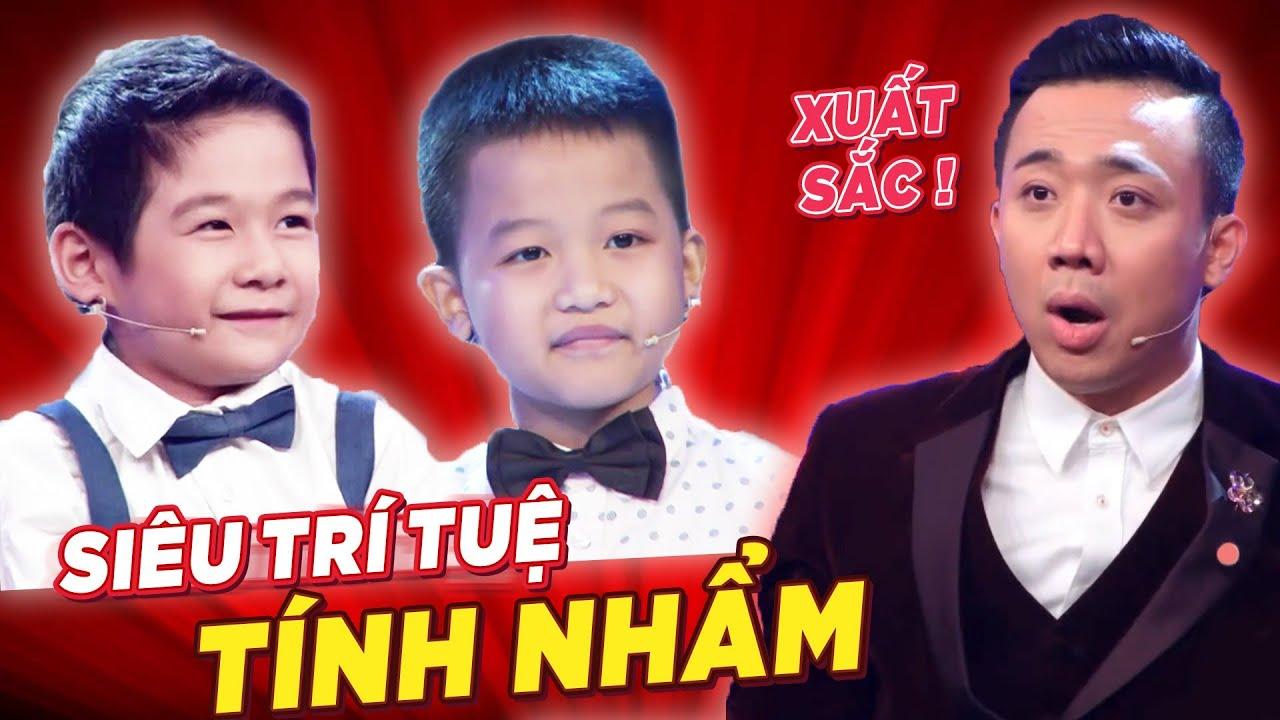 SỬNG SỐT với 2 siêu trí tuệ TÍNH NHẨM THẦN TỐC của Việt Nam | Biệt Tài Tí Hon 3