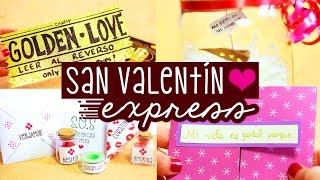 EXPRESS GIFTS: For Valentine's day ✄ Craftingeek