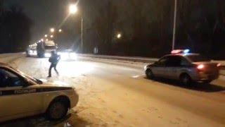 Погоня дпс 2016(Погоня со стрельбой,перекрытием и арестом., 2016-02-22T11:50:45.000Z)