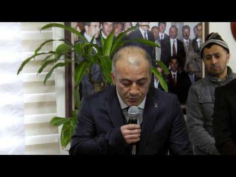 Ersin Danış Ak Parti Milletvekili A adaylık açıklaması 1