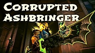 WoW Guide - Retribution Paladin Hidden Artifact Appearance - Corrupted Remembrance