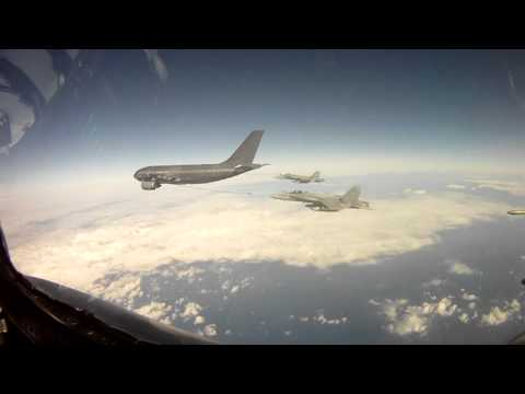 CF-188 Fighter Jets Return Home from Libya