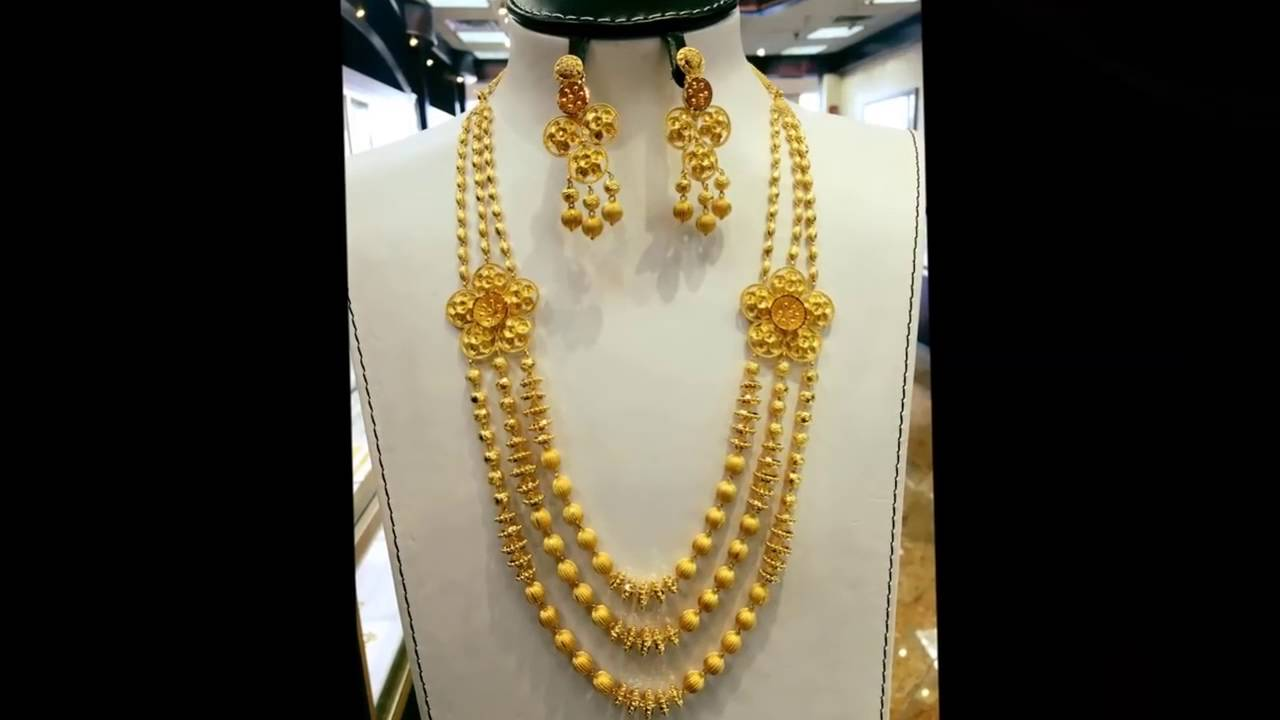 Best Haar Design In Gold Pictures Inspiration - Jewelry Collection ...