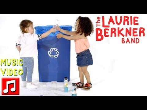 """Clean It Up"" By The Laurie Berkner Band   Best Kids Songs"