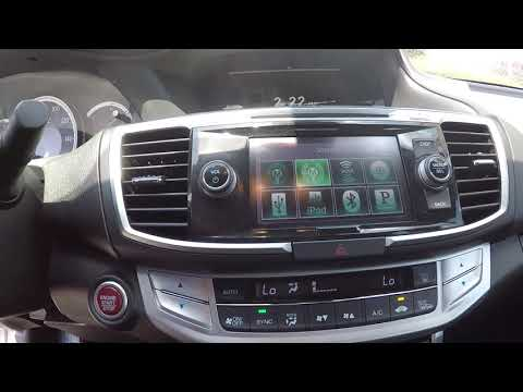 Walkaround Review of 2014 Honda Accord 97061A