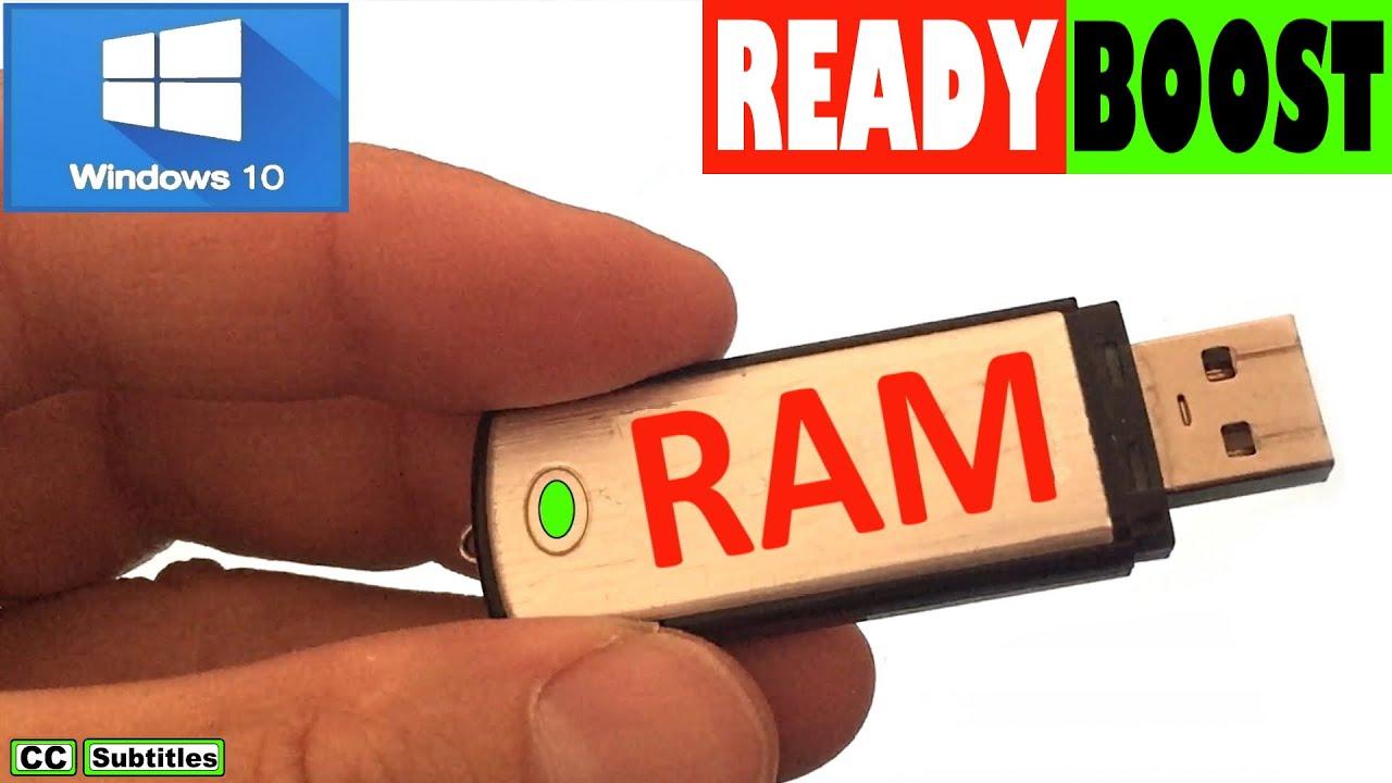 How To Use Usb Flash Drive As Ram Windows 10 Youtube