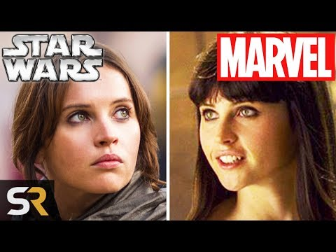 10 Star Wars Actors You Didnt Realize Were In Marvel Movies