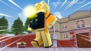 Minecraft ESCOLA DE ANIME - KYUUBI INVOCADA NO COLÉGIO