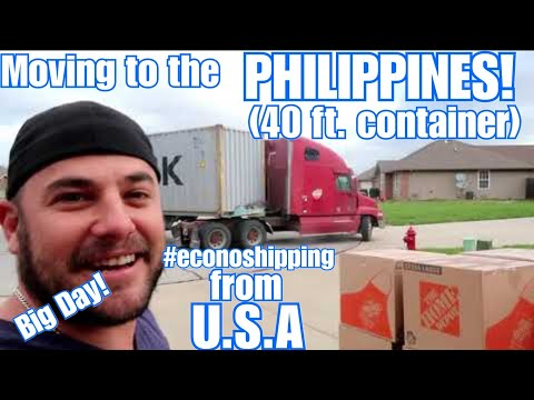 SHIPPING ALL OF OUR STUFF USA TO PHILIPPINES (40FT CONTAINER)