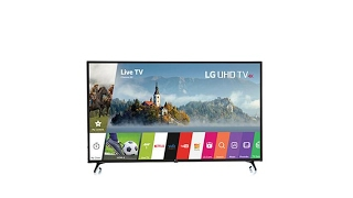 """LG 55"""" Smart 4K Ultra HDTV w/Active HDR Tech Support"""
